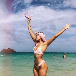 Singer Halsey Bikini Photos